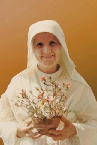 Suor Maria Rosa all'ospedale Pizzardi di Bologna